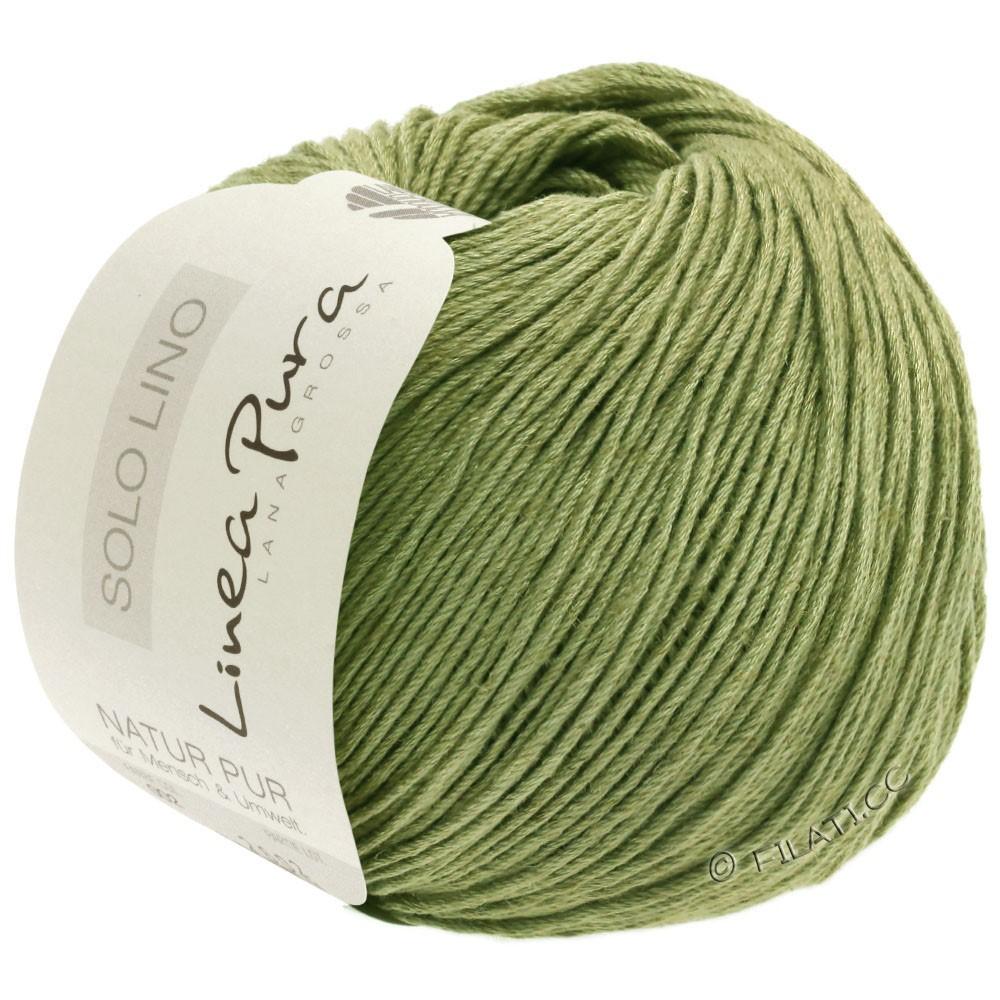 Lana Grossa SOLO LINO (Linea Pura) | 19-beau vert
