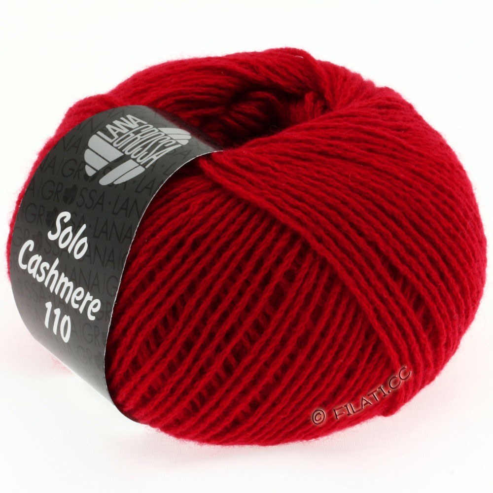 Lana Grossa SOLO CASHMERE 110 | 102-rouge