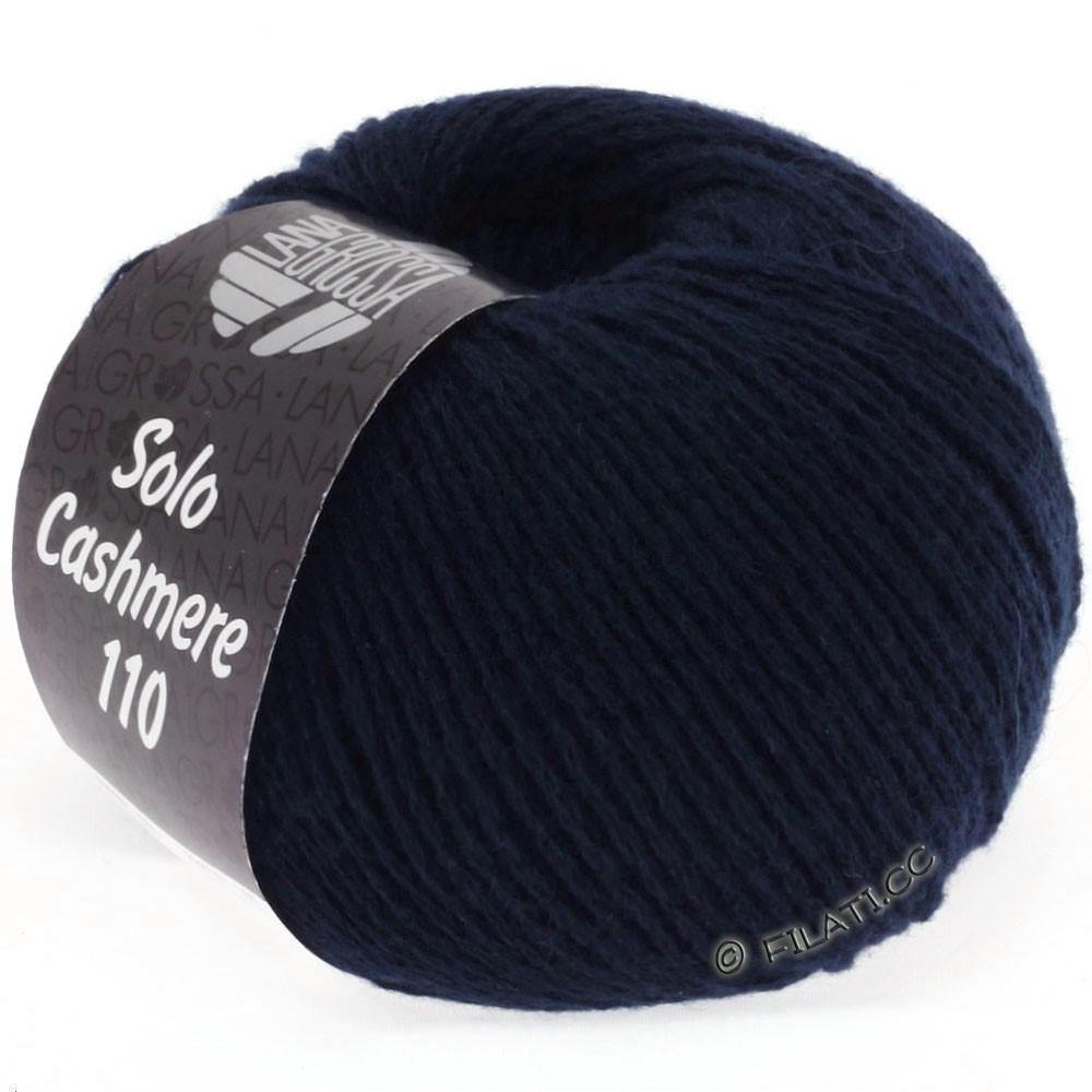 Lana Grossa SOLO CASHMERE 110 | 107-bleu nuit