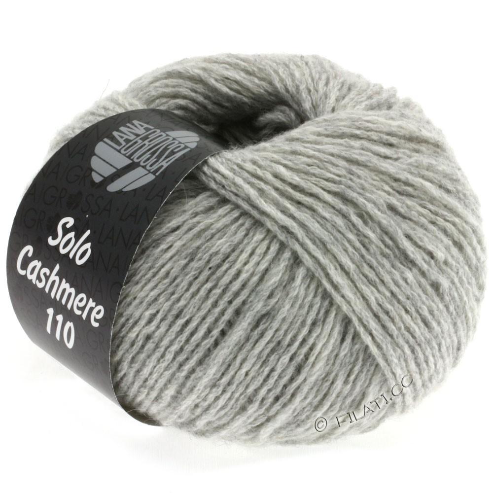 Lana Grossa SOLO CASHMERE 110 | 108-gris clair chiné