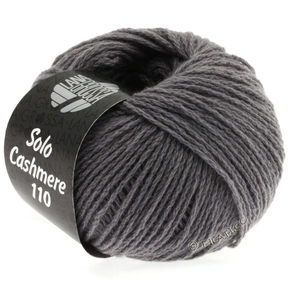 Lana Grossa SOLO CASHMERE 110 | 124-gris moyen