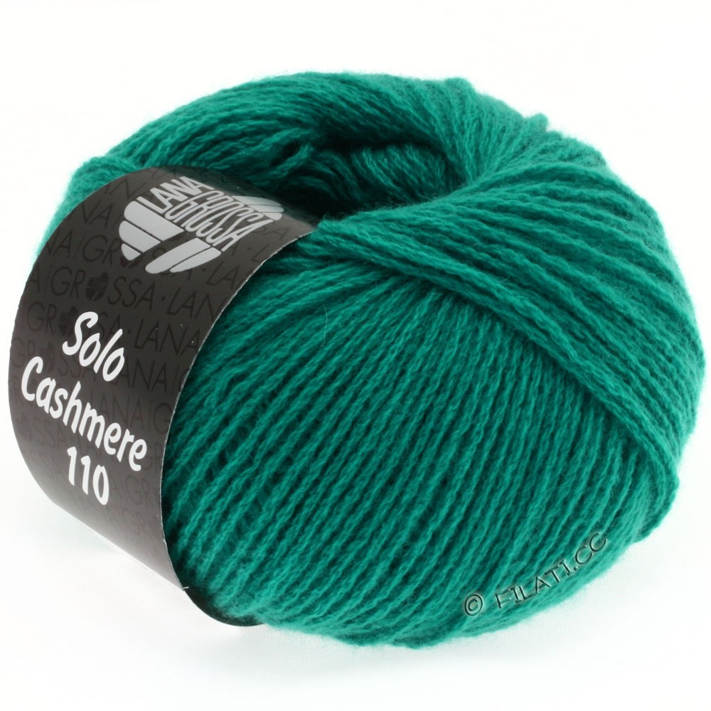 Lana Grossa SOLO CASHMERE 110 | 132-vert turquoise
