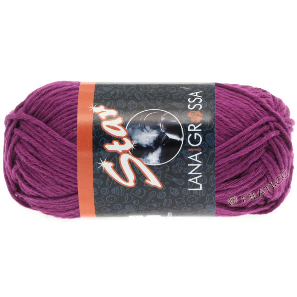 Lana Grossa STAR | 49-violet foncé