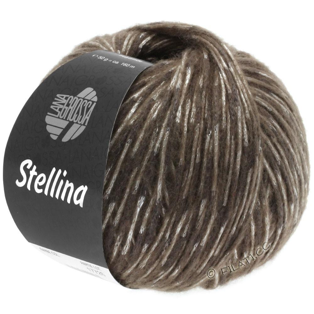 Lana Grossa STELLINA   12-brun foncé/beige