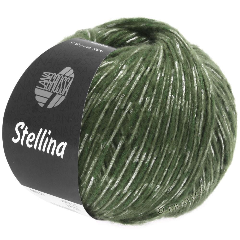 Lana Grossa STELLINA   19-vert réséda/gris vert