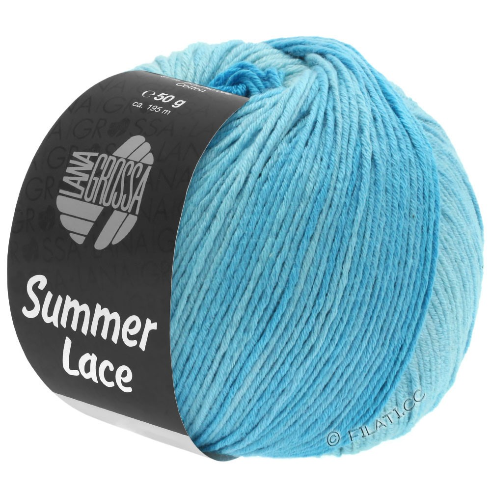 Lana Grossa SUMMER LACE DEGRADÉ | 103-menthe/turquoise clair/turquoise