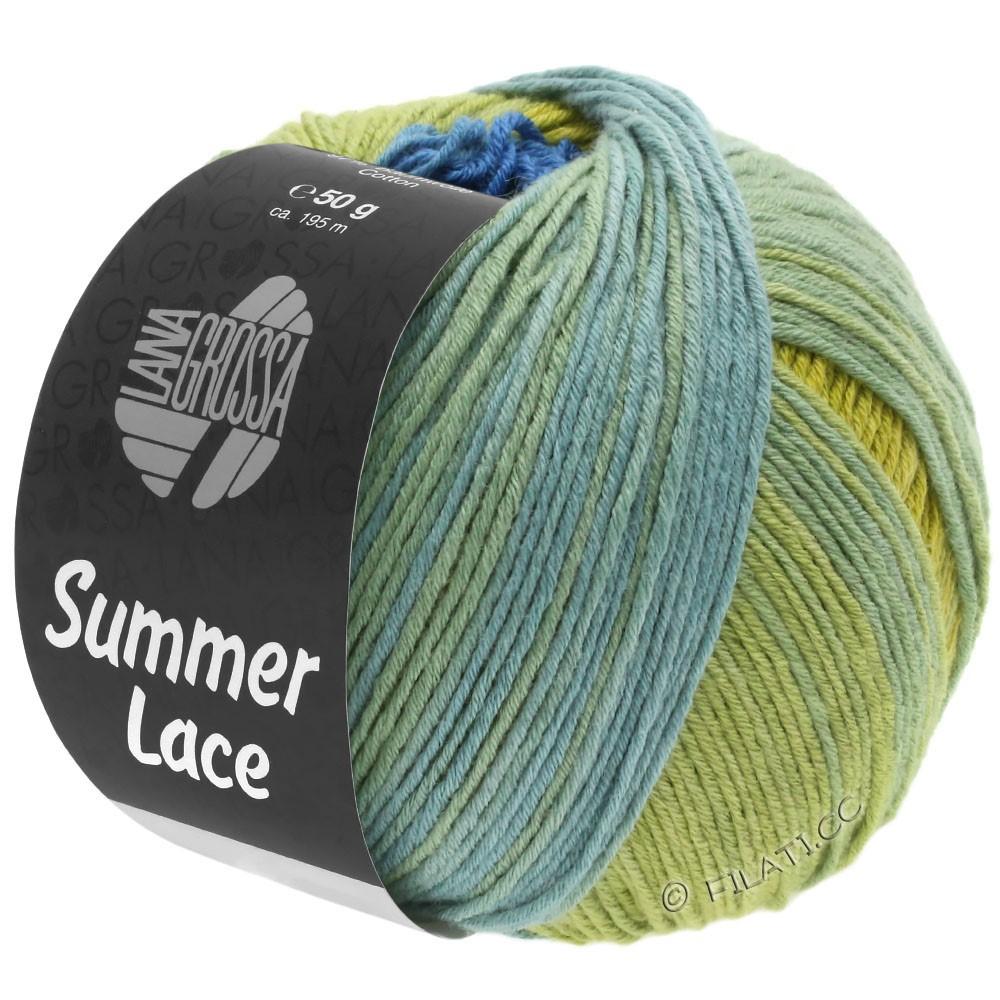 Lana Grossa SUMMER LACE DEGRADÉ | 104-jaune/bleu/vert jade