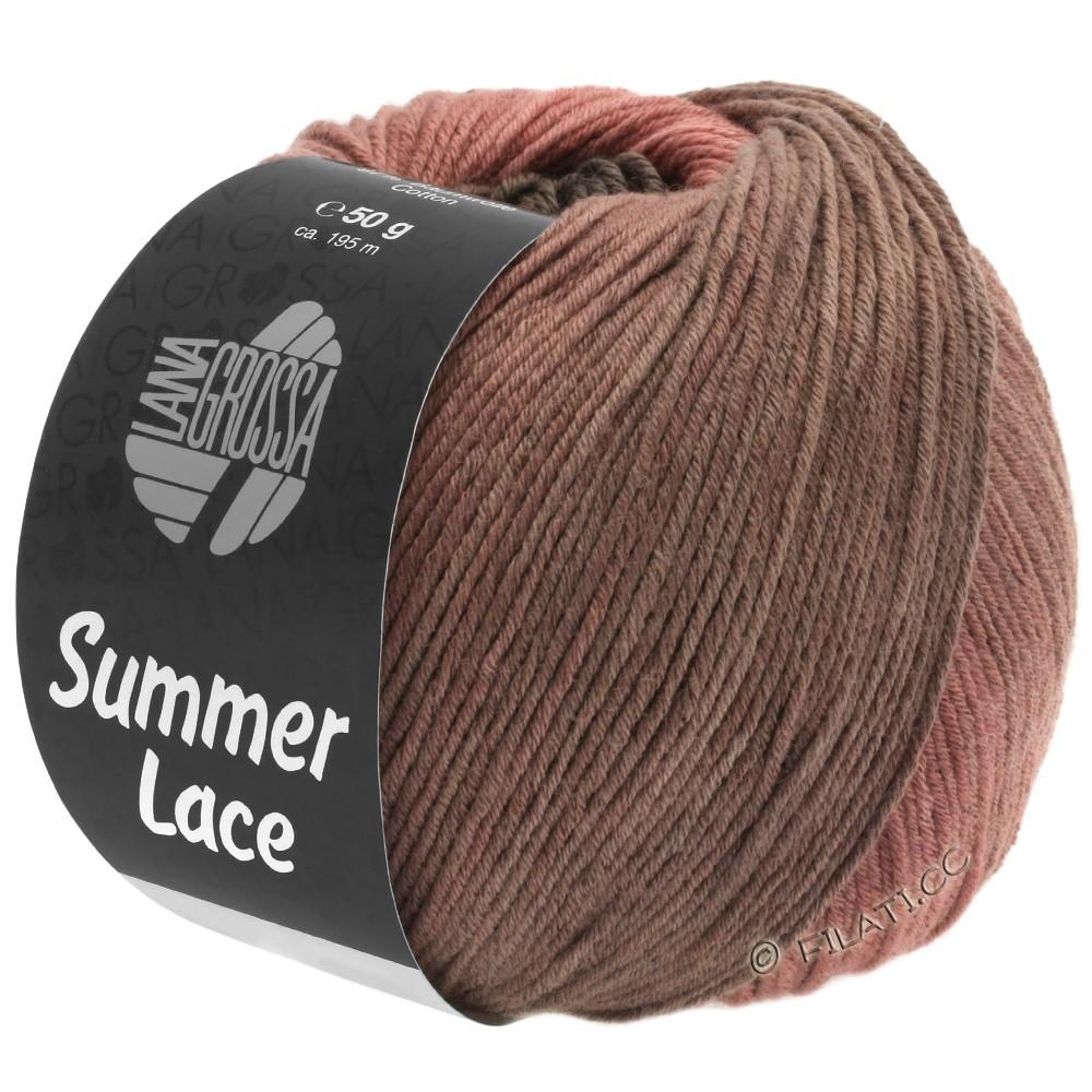 Lana Grossa SUMMER LACE DEGRADÉ | 106-vieux rose/bois de rose/beige gris