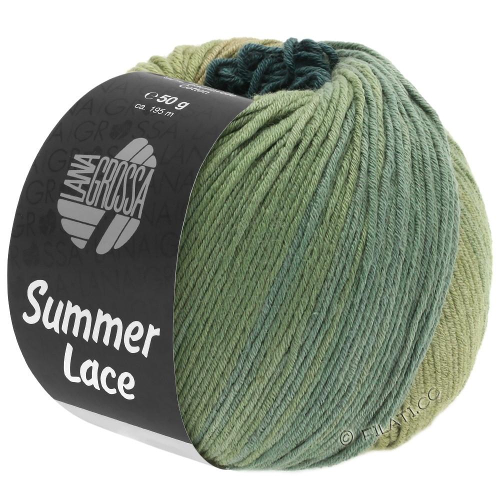 Lana Grossa SUMMER LACE DEGRADÉ | 107-roseau/kaki/gris vert