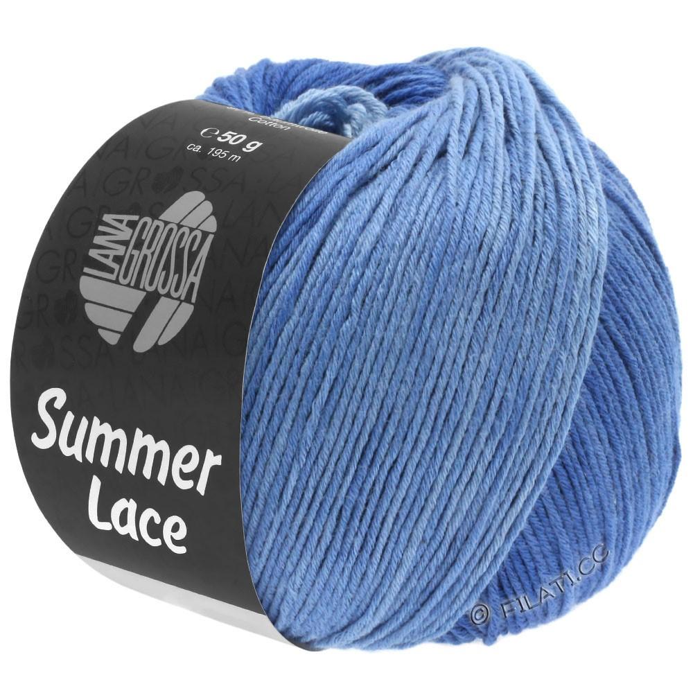 Lana Grossa SUMMER LACE DEGRADÉ | 108-bleu clair/bleu moyen/bleu foncé