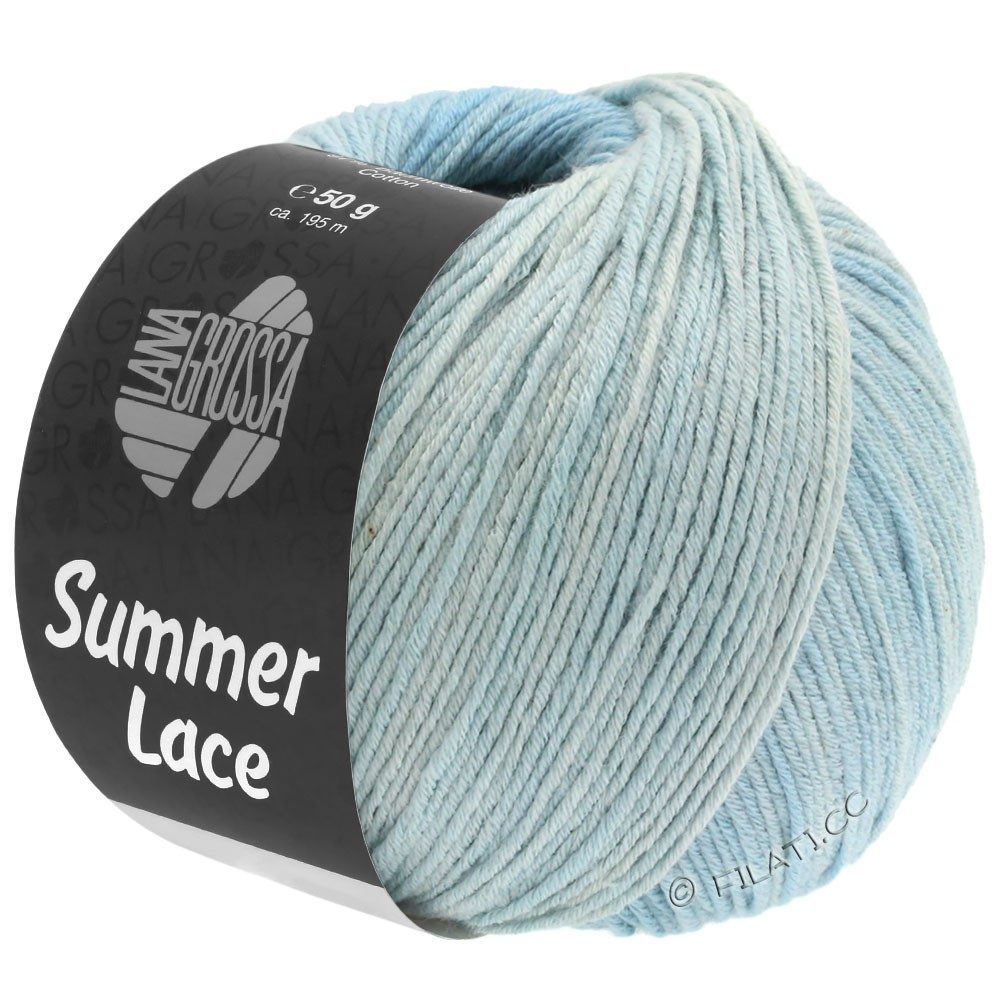 Lana Grossa SUMMER LACE DEGRADÉ | 109-nature/bleu pastel/bleu clair