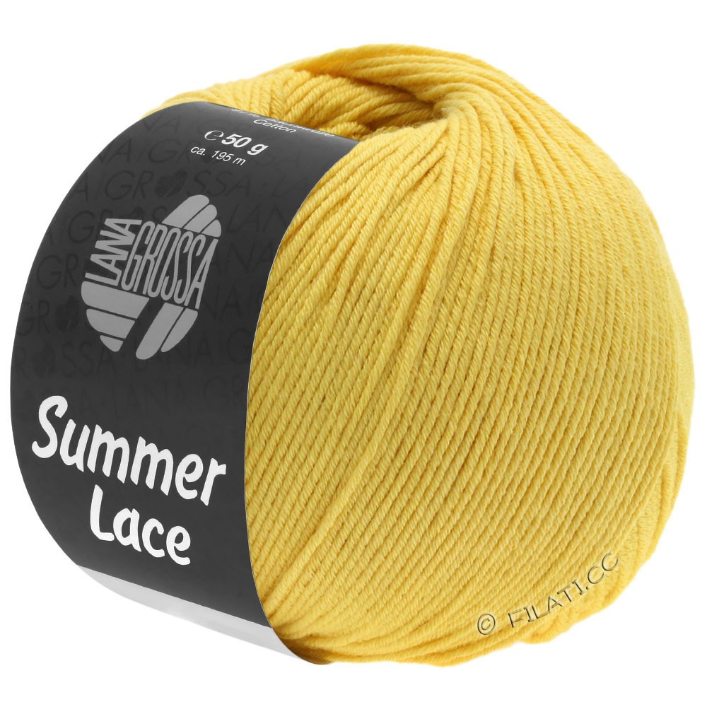 Lana Grossa SUMMER LACE | 09-jaune