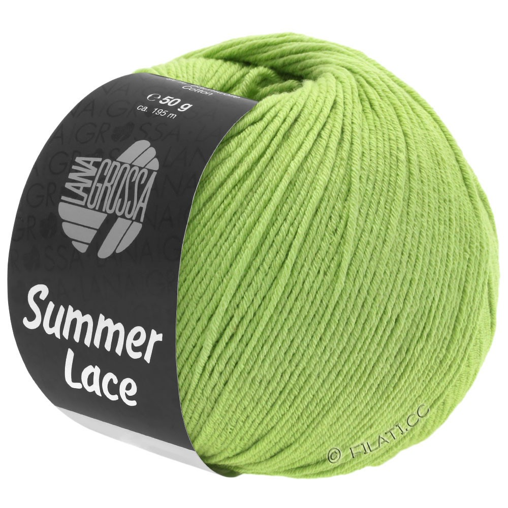 Lana Grossa SUMMER LACE | 10-vert clair