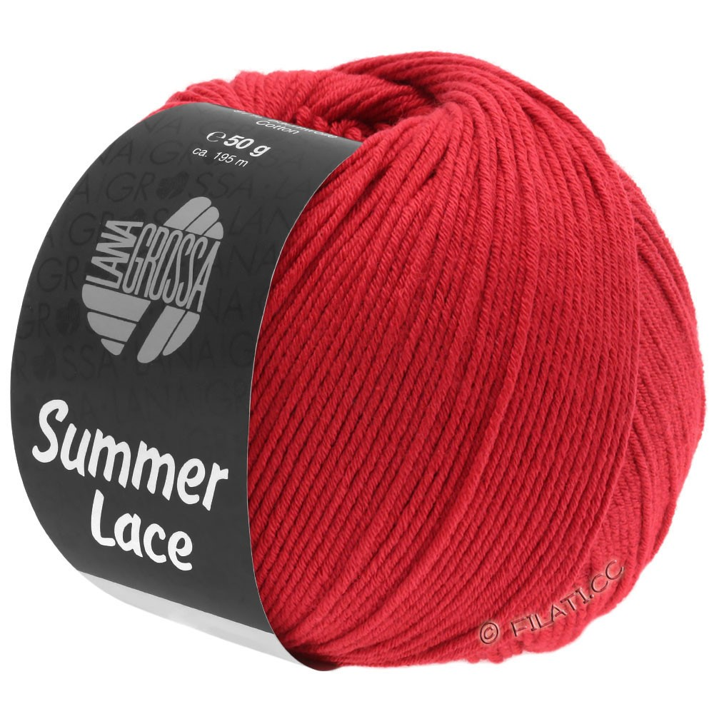 Lana Grossa SUMMER LACE | 12-rouge