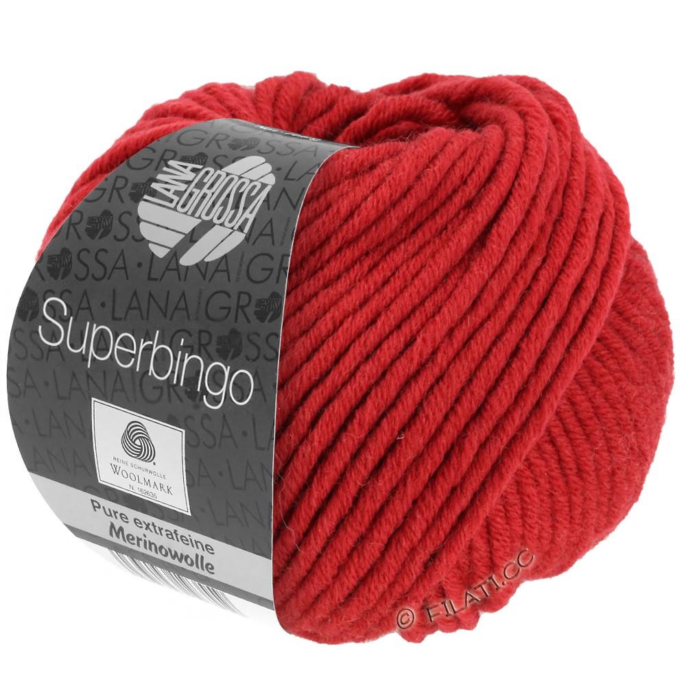 Lana Grossa SUPERBINGO | 006-rouge foncé