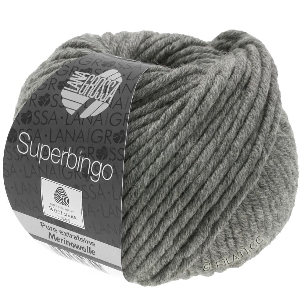 Lana Grossa SUPERBINGO | 025-gris foncé chiné