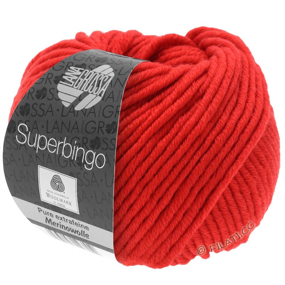 Lana Grossa SUPERBINGO | 042-rouge brillant