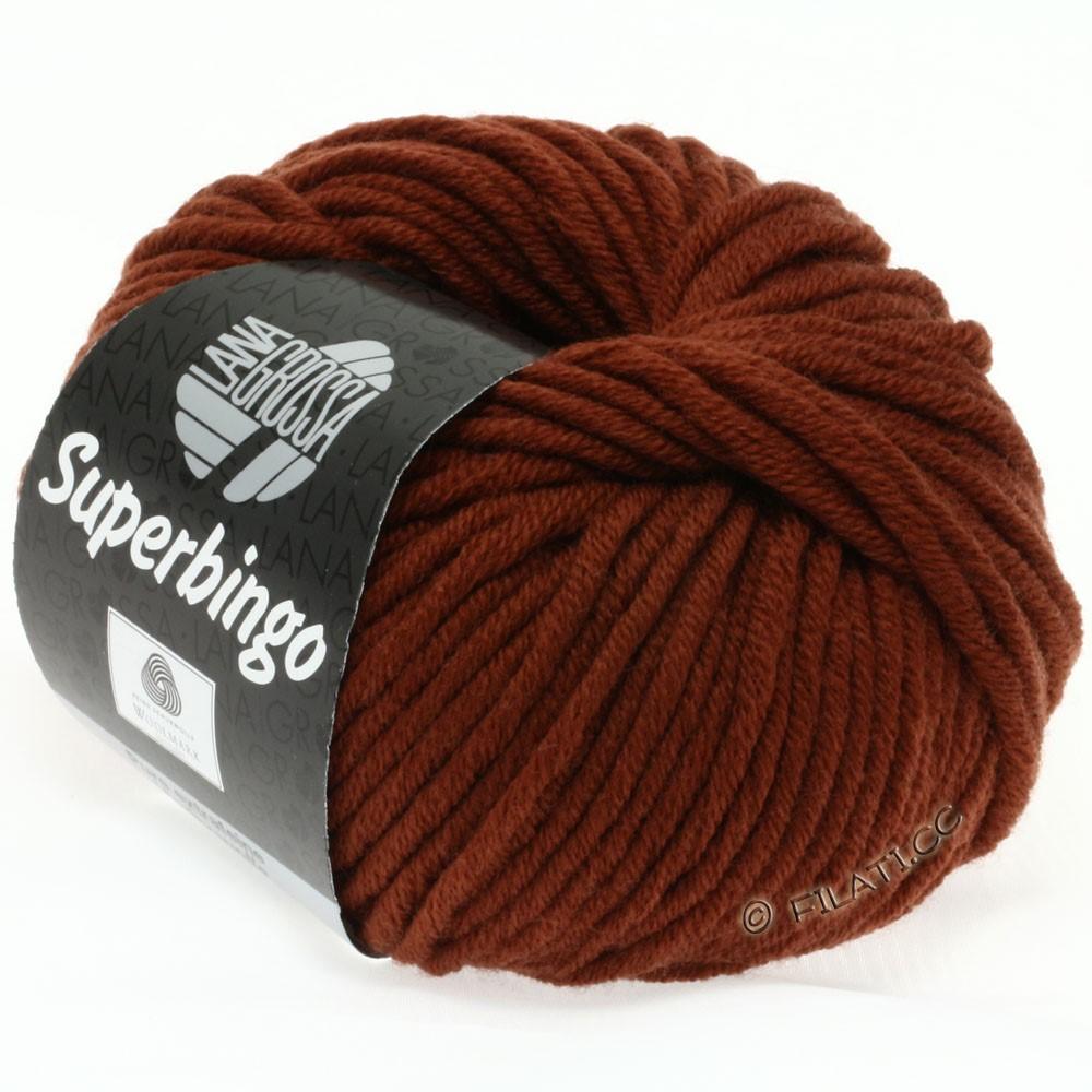Lana Grossa SUPERBINGO | 048-brun rouge