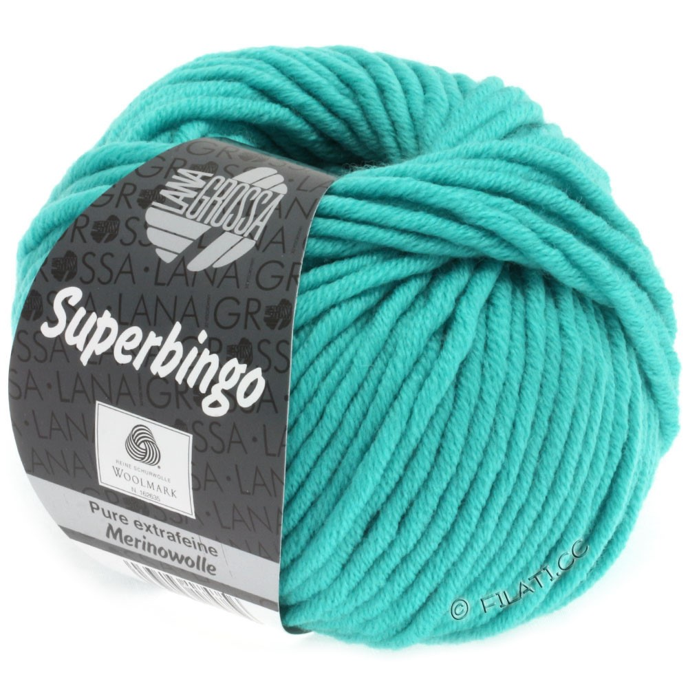 Lana Grossa SUPERBINGO | 056-turquoise clair