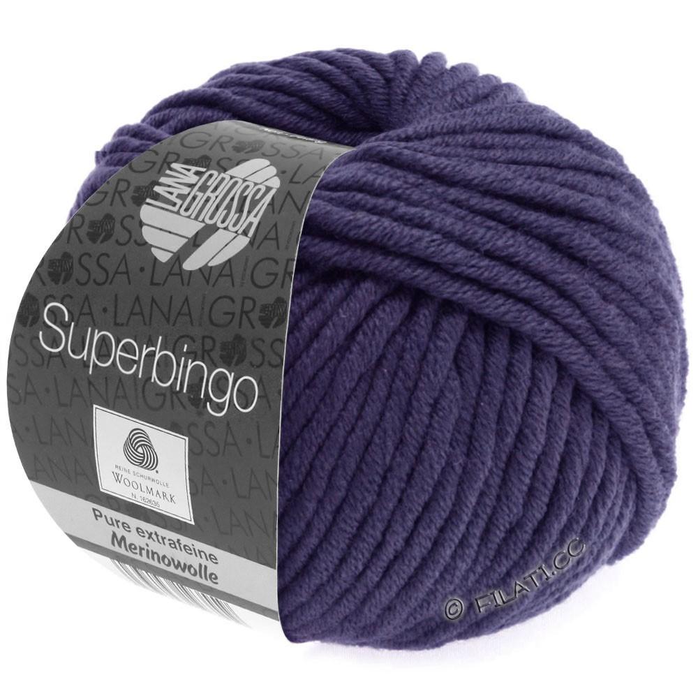 Lana Grossa SUPERBINGO | 065-violet foncé