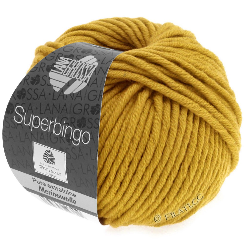 Lana Grossa SUPERBINGO | 067-jaune miel