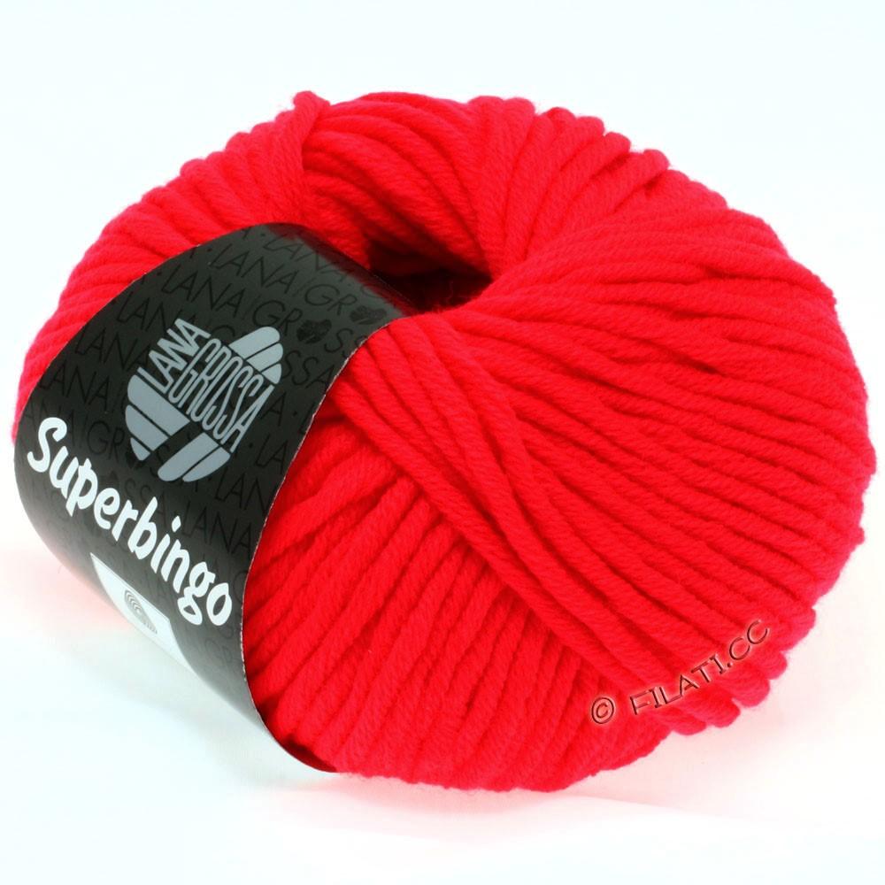 Lana Grossa SUPERBINGO | 307-rouge néon