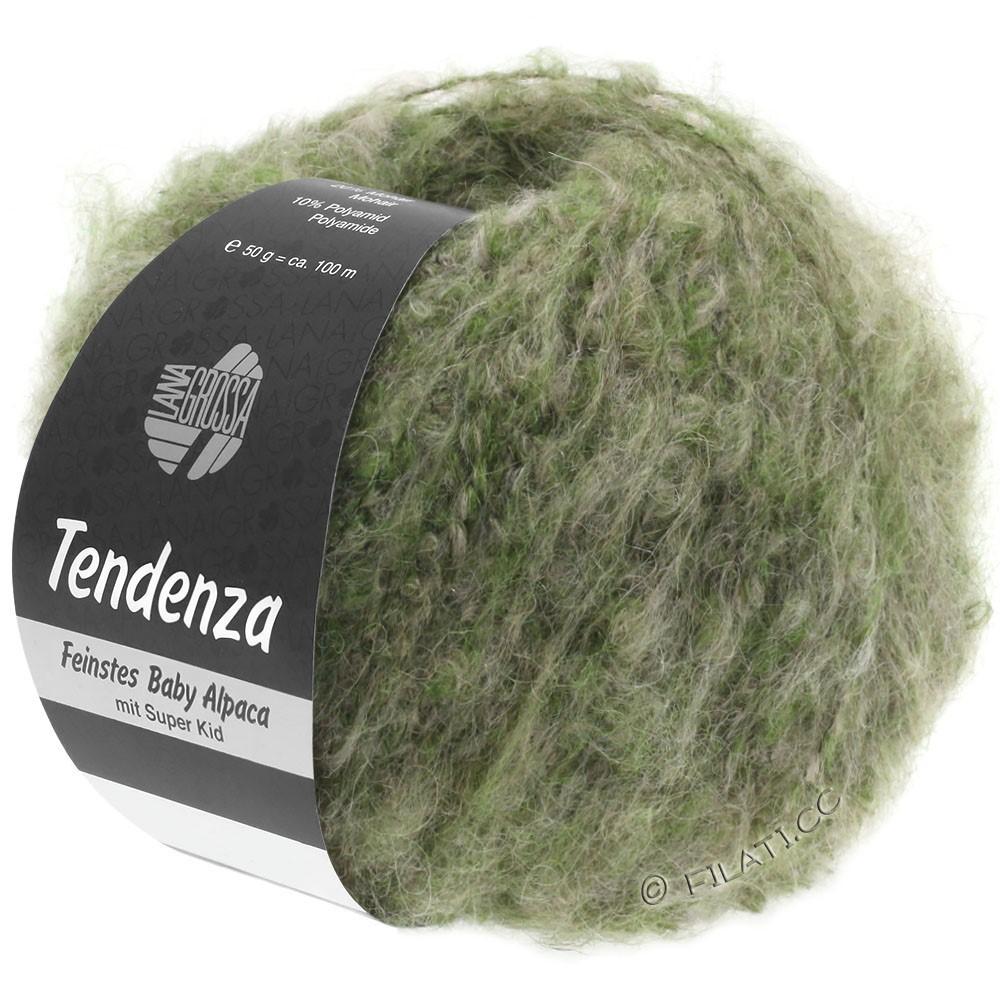 Lana Grossa TENDENZA | 007-vert/beige