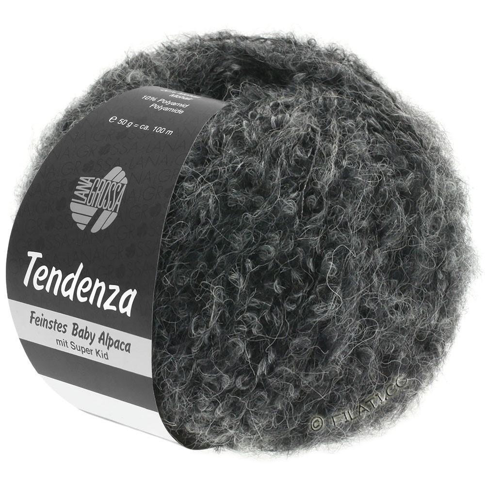Lana Grossa TENDENZA | 010-noir/gris