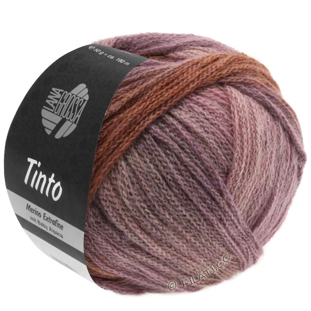 Lana Grossa TINTO   06-sable/rose/lilas/brun chocolat/violet