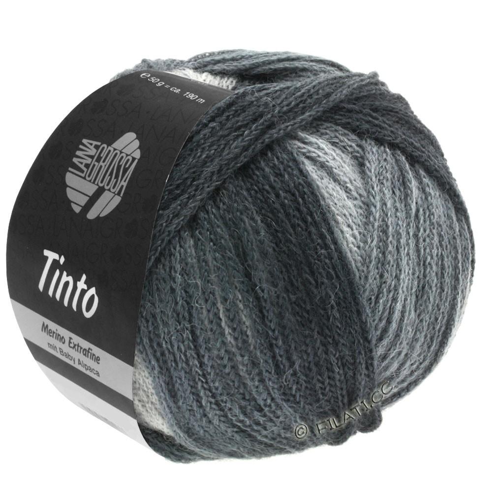 Lana Grossa TINTO   11-gris clair/gris moyen/gris foncé/anthracite