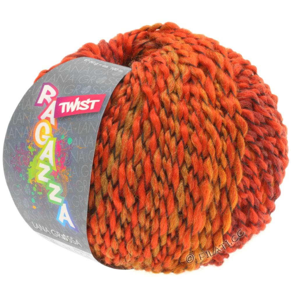 Lana Grossa TWIST (Ragazza) | 06-rouge/bourgogne/orange