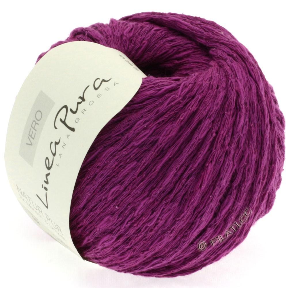 Lana Grossa VERO uni/print (Linea Pura) | 003-violet rouge