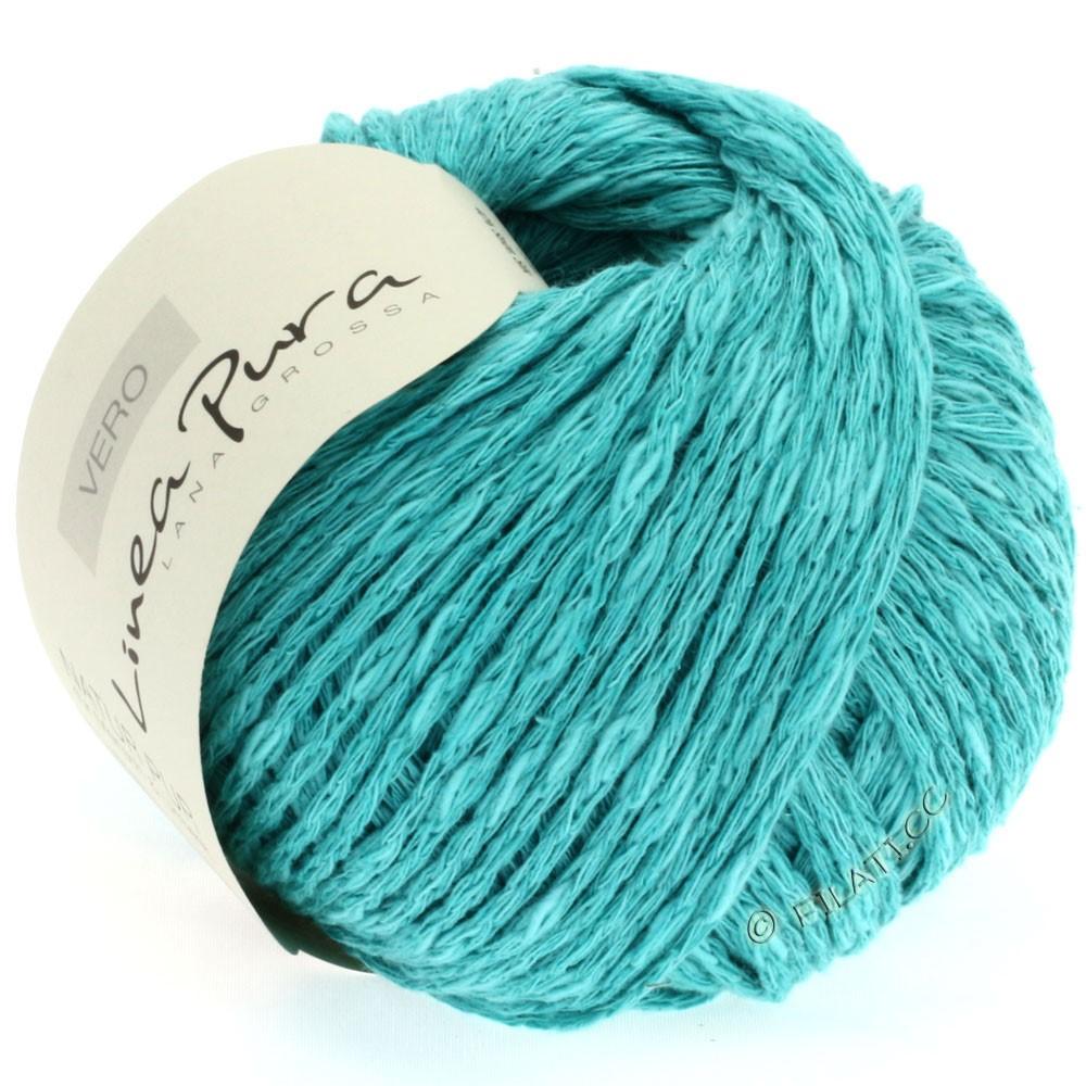Lana Grossa VERO uni/print (Linea Pura) | 004-turquoise