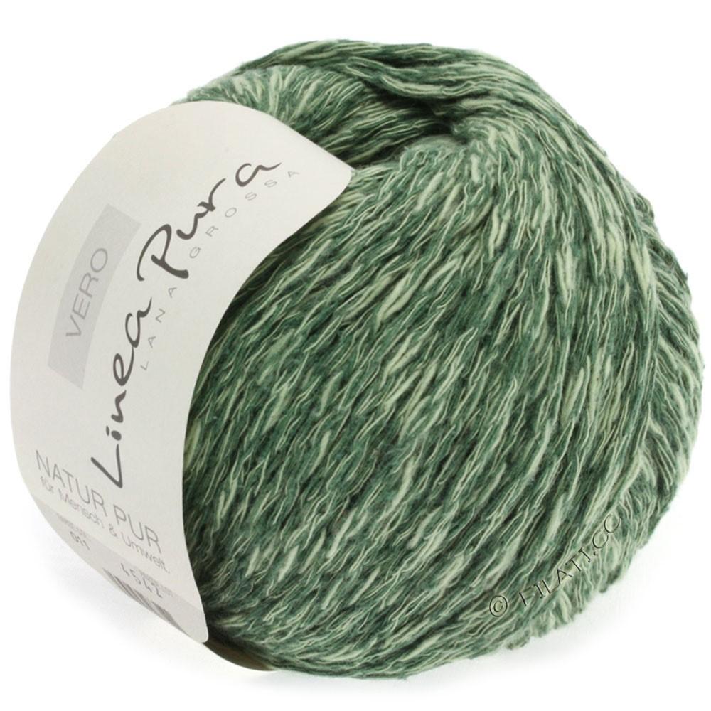 Lana Grossa VERO uni/print (Linea Pura) | 011-gris vert chiné