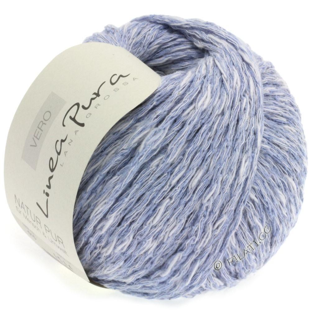 Lana Grossa VERO uni/print (Linea Pura) | 015-bleu gris chiné