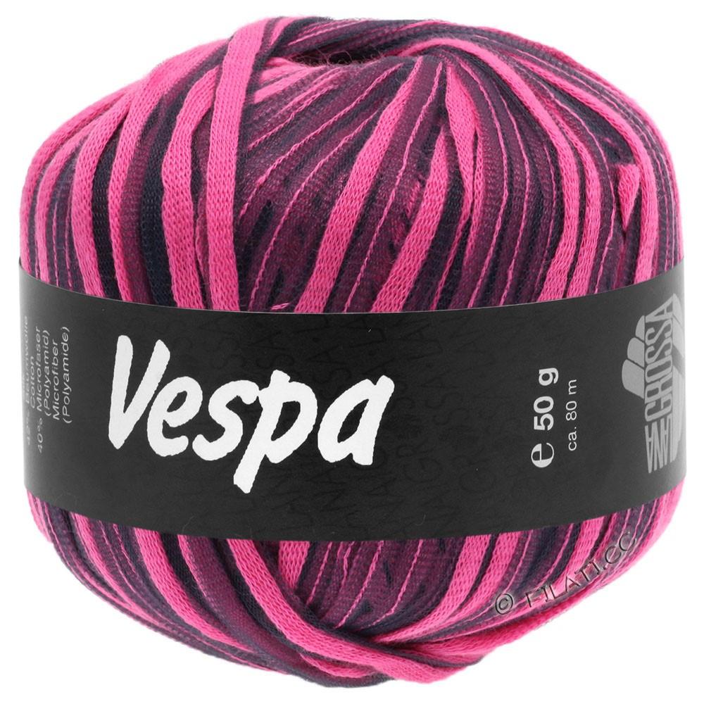Lana Grossa VESPA | 008-rose vif/anthracite