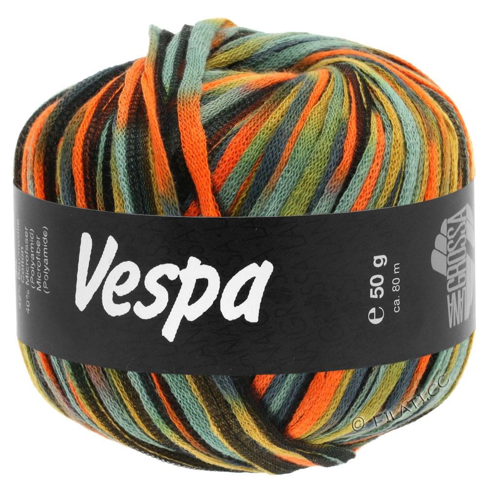 Lana Grossa VESPA | 103-orange/beige/gris bleu/noir