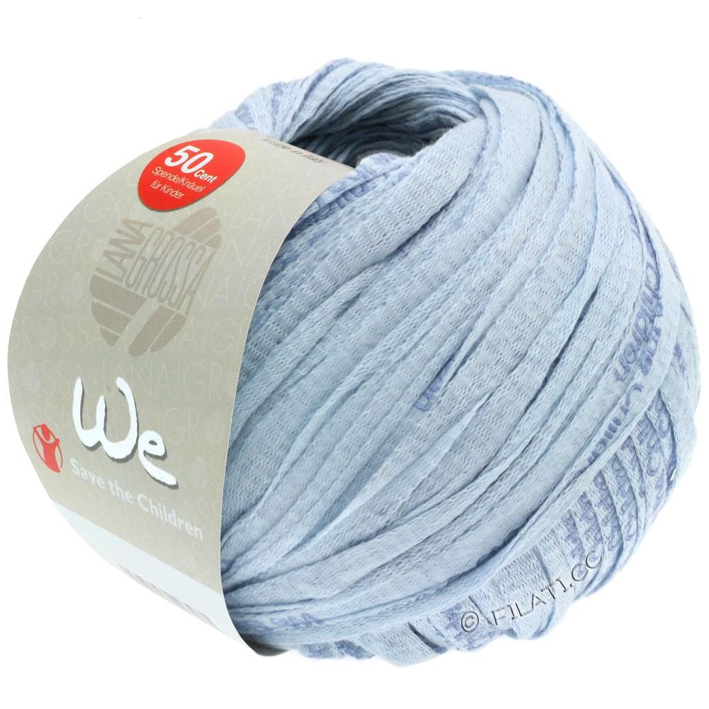 Lana Grossa WE | 103-bleu clair/jean avec l'écriture
