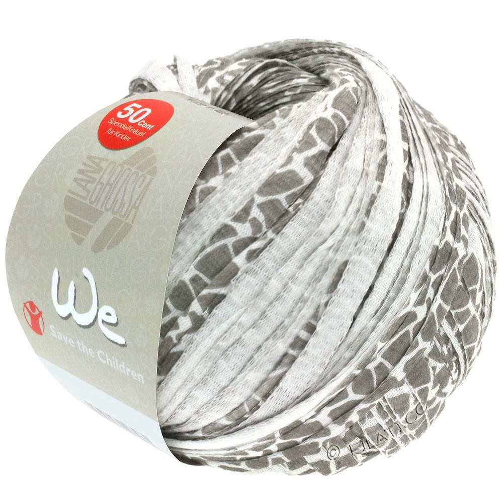 Lana Grossa WE | 201-blanc/gris tacheté