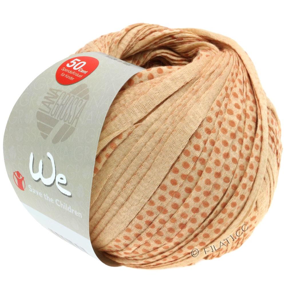 Lana Grossa WE | 304-caramel/cannelle/brun foncé avec des points