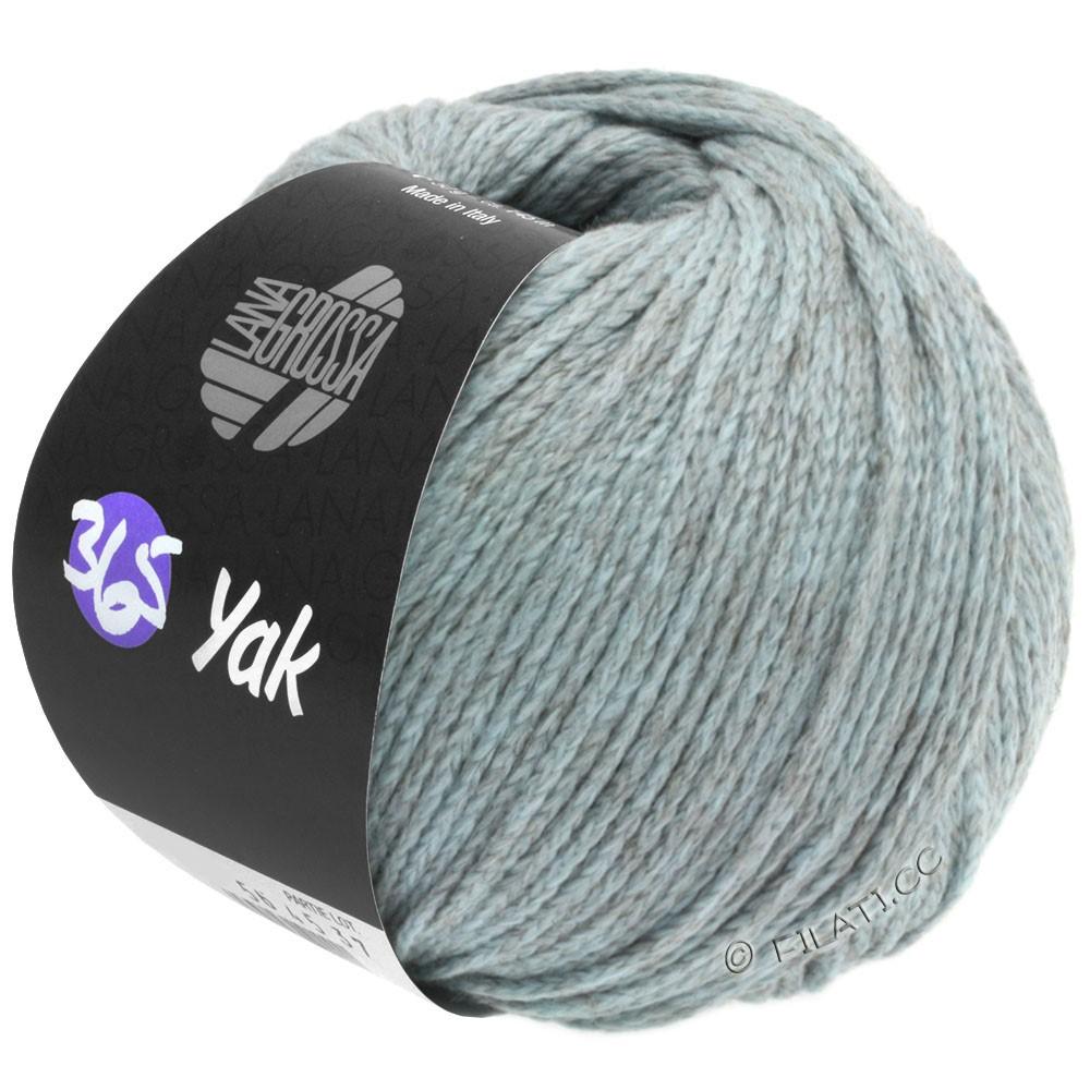 Lana Grossa 365 YAK   08-bleu clair/gris