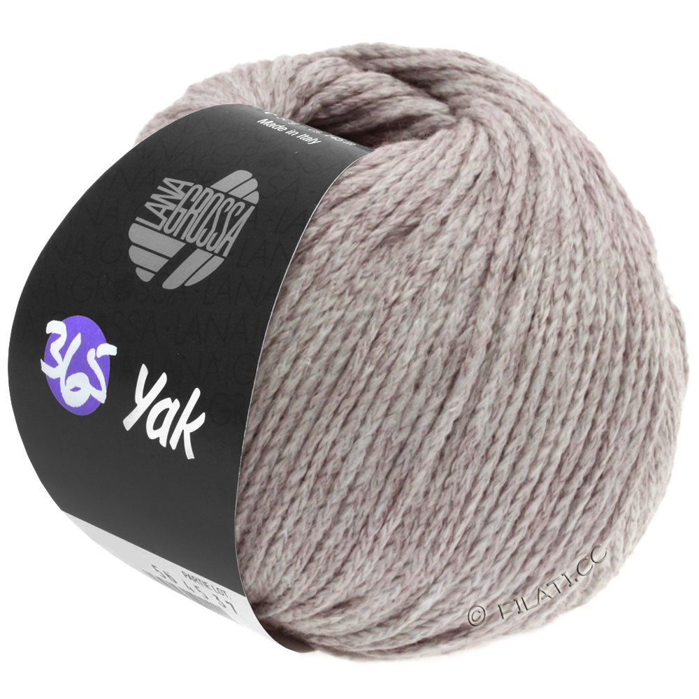 Lana Grossa 365 YAK   18-gris lilas