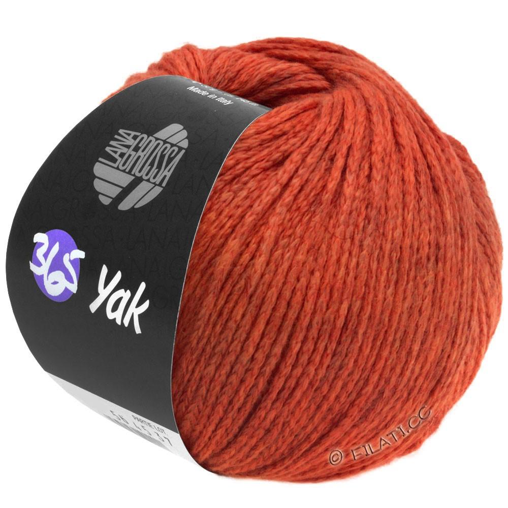 Lana Grossa 365 YAK   20-rouge/rouge foncé