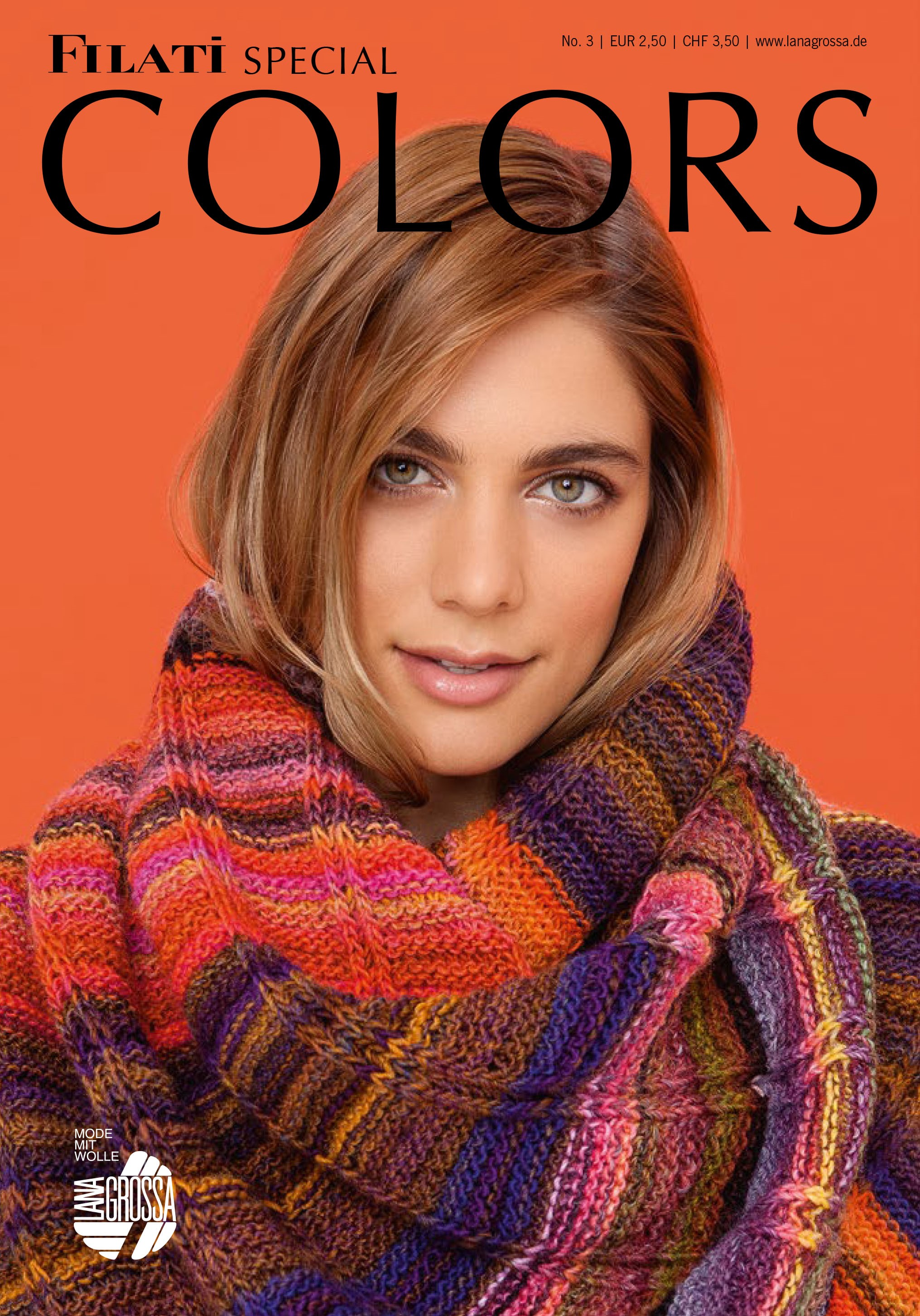 Lana Grossa COLORS No. 3 - German Edition