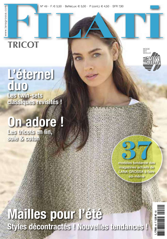 Lana Grossa FILATI tricot No. 12 (FR)