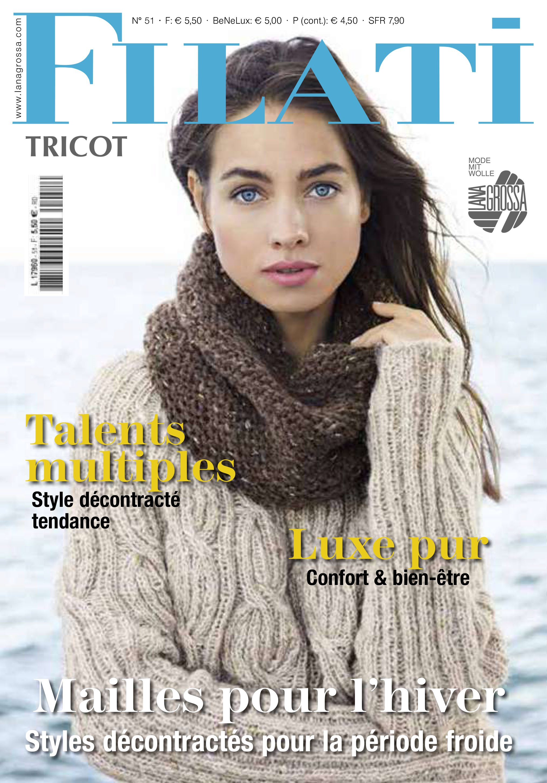 Lana Grossa FILATI tricot No. 13 (FR)