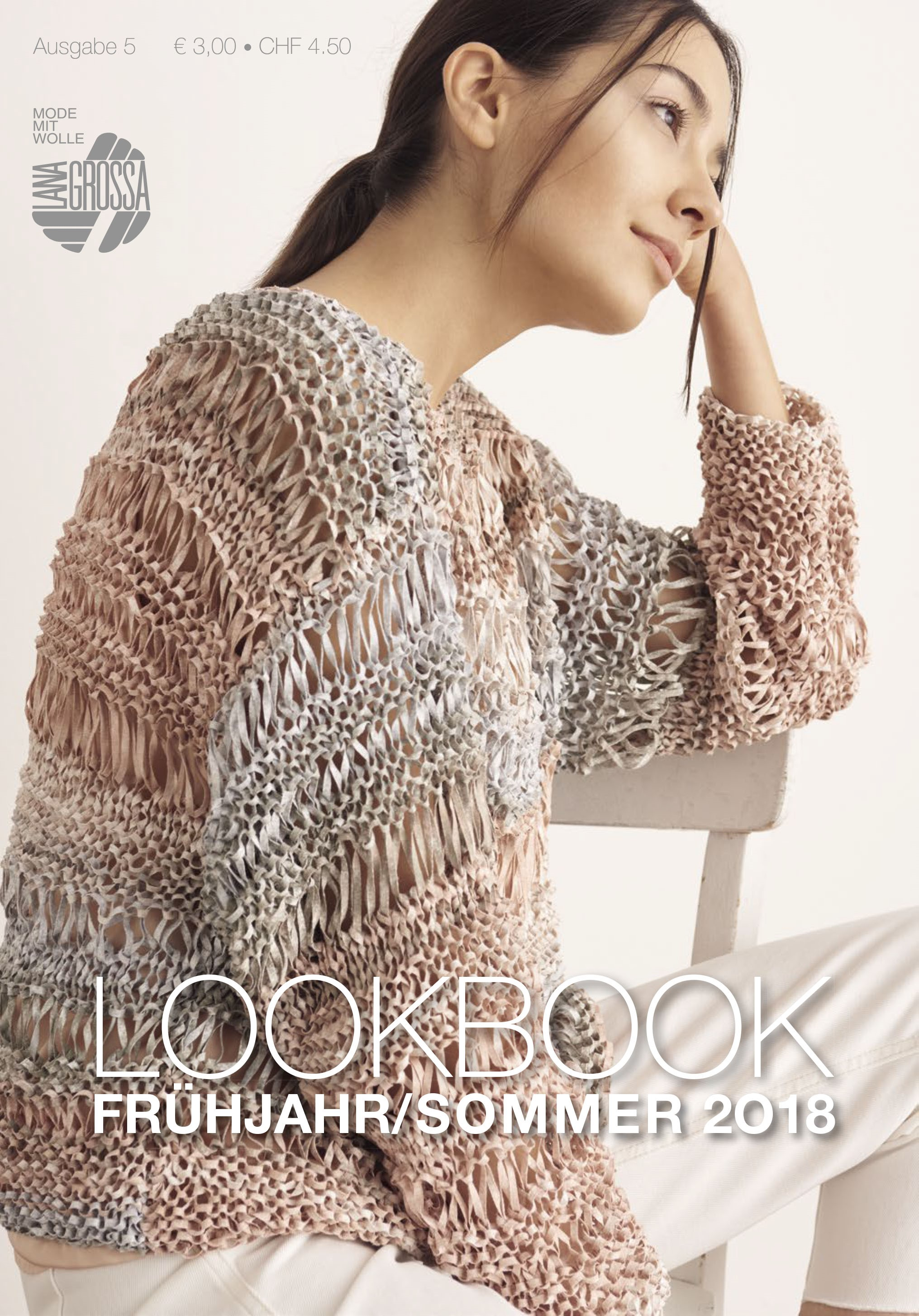 Lana Grossa LOOKBOOK No. 5 - Knitting instructions (EN)
