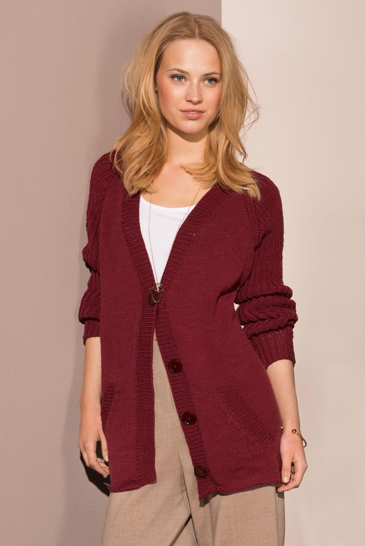 Lana Grossa CARDIGAN Cool Wool