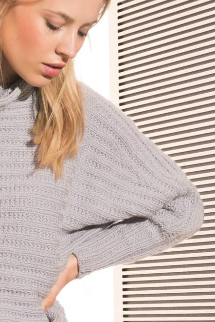 Lana Grossa PULL KIMONO Cool Wool Alpaca