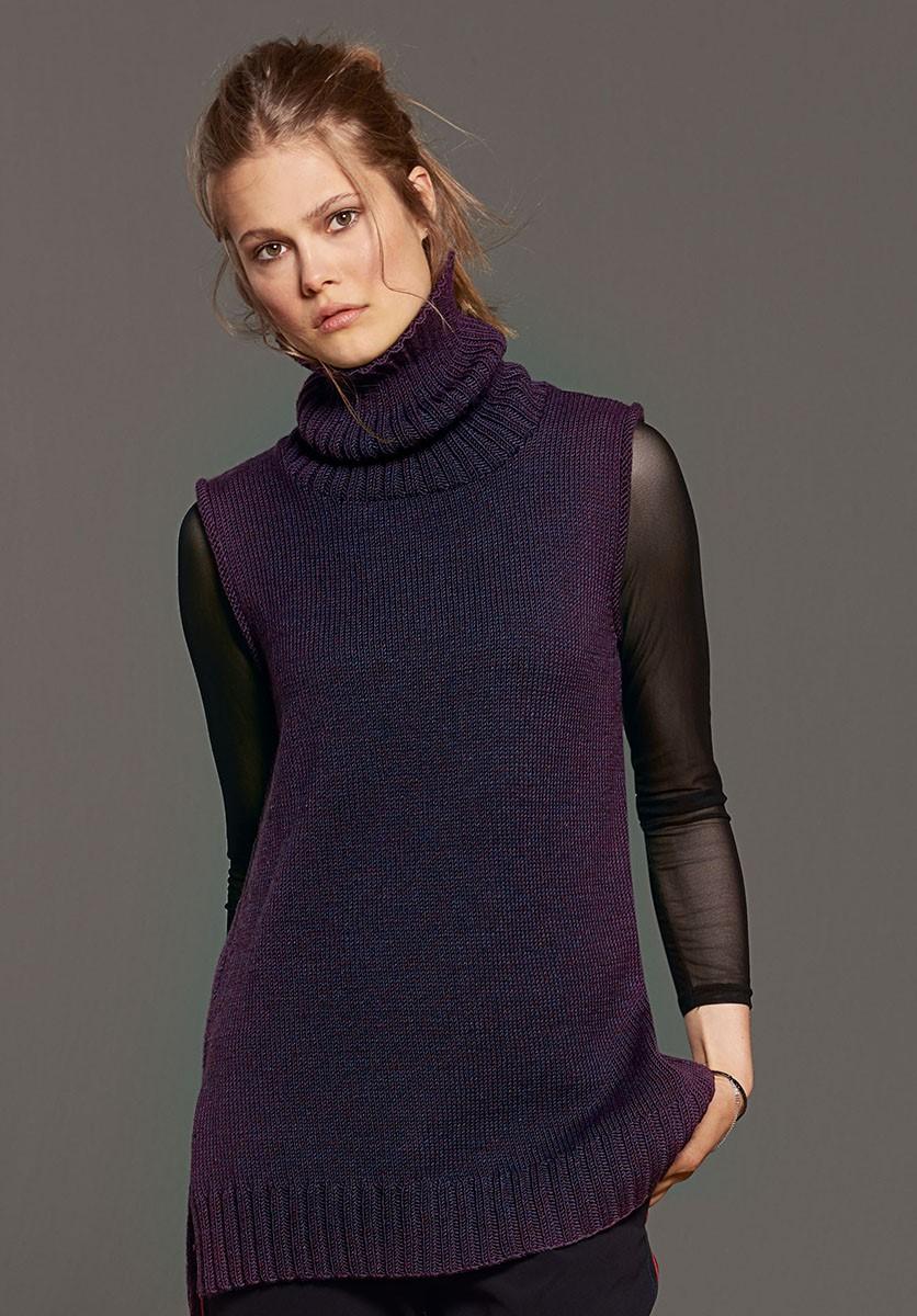 Lana Grossa TUNIQUE Cool Wool Melange